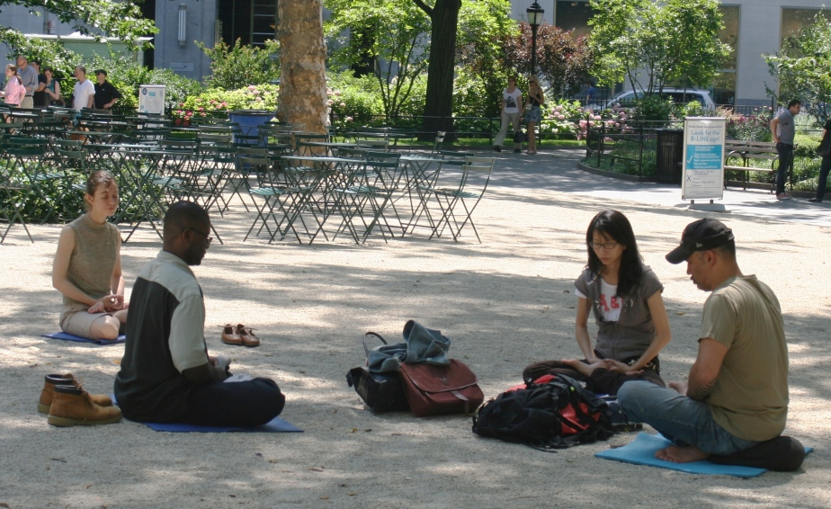 meditating_in_madison_square_park
