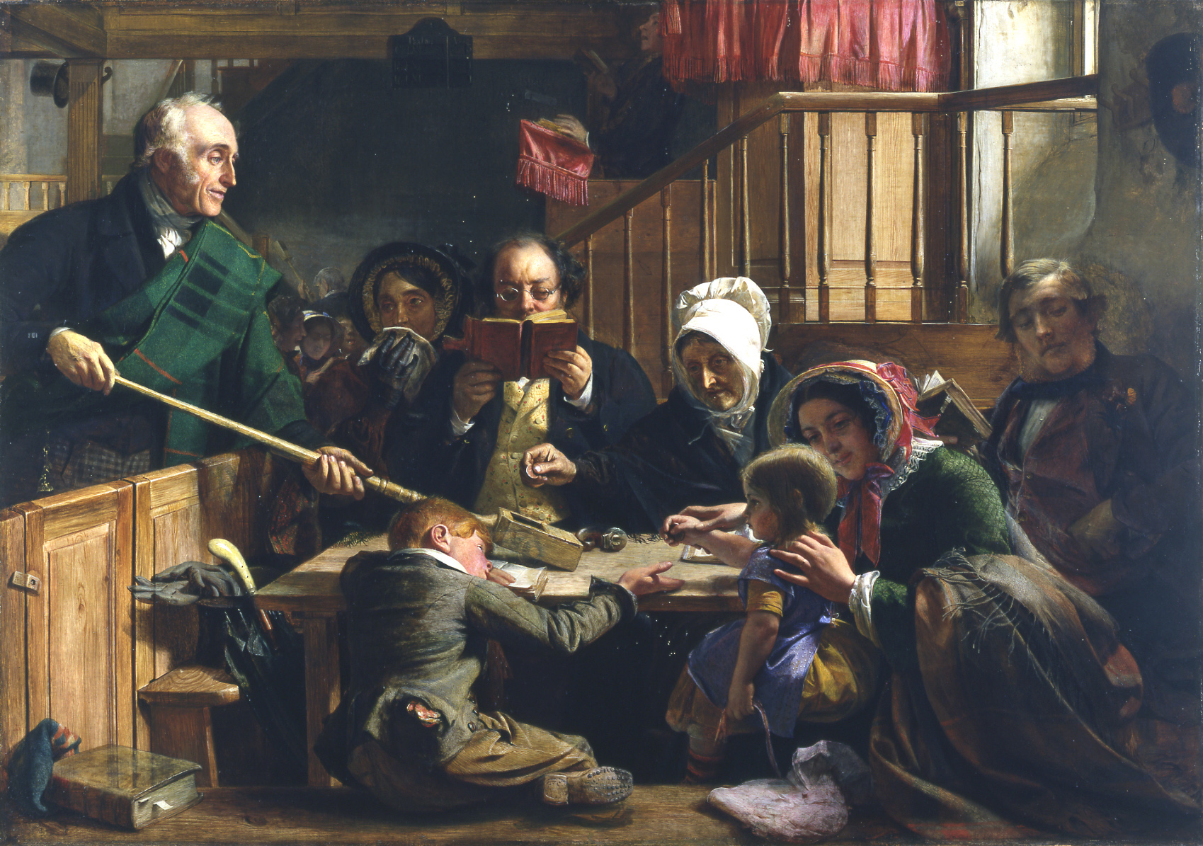 collecting_the_offering_in_a_scottish_kirk_by_john_phillip_yorag_384